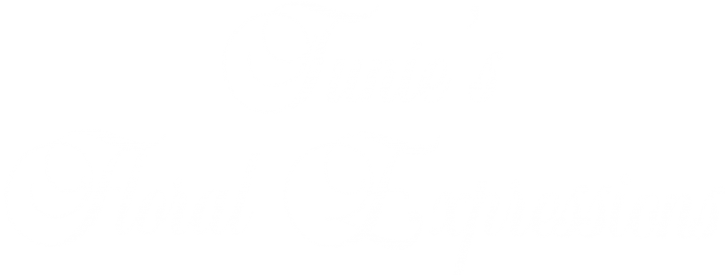 Tunie's Floral Expressions Logo in White